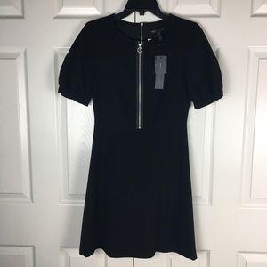 New Marc By Marc Jacobs Black Zipper Dress 2
